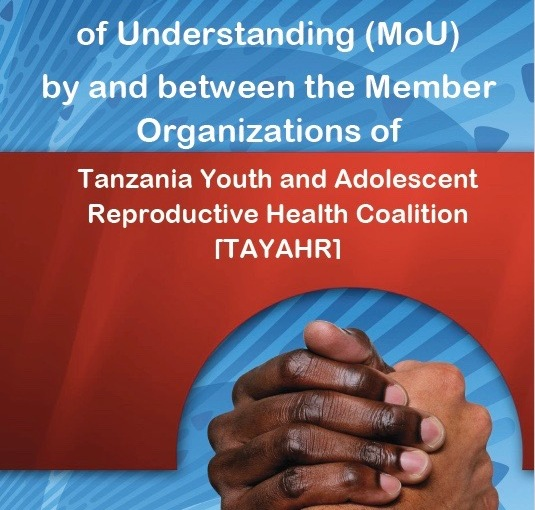 MoU: TAYAHR advocate for Family Planning & Sexual Reproductive Health Rights in Tanzania